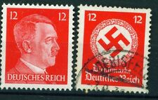 Germany WW2 Hitler and Swastika set 1942 red