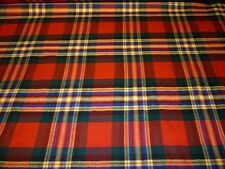 MacGill Tartan Stoffe 100% Wolle Moderne Hergestellt In Schottland Pro Meter