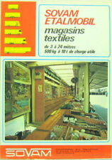 SOVAM ETALMOBIL MAGASINS TEXTILES DE 3 A 24 METRES
