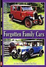 Book - Forgotten Family Cars - Bean Clyno Cubitt Storey Swift - Auto Review