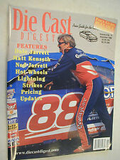 November 1998 11/98 DIECAST DIGEST Price Guide Dale Jarrett #88 On Front Cover