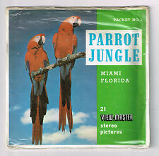 VIEW-MASTER - S5 A965 PARROT JUNGLE FL | Buy 3 or More For Free Shipping