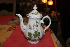 Vintage Winterling Bavaria Teapot-Western Germany-Large-Flower Pattern-Scallop