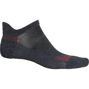 2 Pair Adidas No Show Tab Superlite Socks, Men's Shoe Size 6-12, Black B41 MP