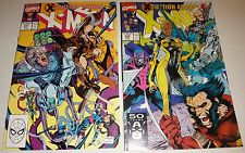 X-MEN #271,272  JIM LEE NM 9.4'S