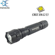 DanceLite WF-501B CREE XML2 U3 6500K 1-MODE (on/off) White Light LED Flashlight