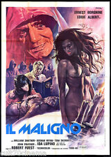 IL MALIGNO MANIFESTO CINEMA DEMONIO HORROR 1975 THE DEVIL'S RAIN MOVIE POSTER 4F