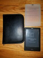 Kobo Touch 2GB, Wi-Fi, 6in - Black w/ accessories DOES NOT CHARGE