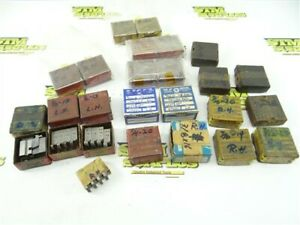 """NICE LOT OF GEOMETRIC 9/16-D THREADING DIE HEAD CHASERS #5-40 TO 1/2""""-13"""