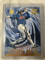 Kenny Lofton Autograph - 1995 Pinnacle Swing Men Insert! MLB Cleveland Indians