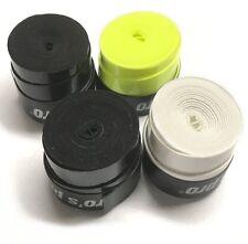 4x Griffband Super G-Tacky (1x gelb, 2x schwarz, 1x weiß für Schläger / Racket)