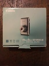 Canon PowerShot Digital ELPH SD1400 IS 14.1MP Digital Camera - Silver