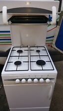BEKO CASCADE 50 FREE STANDING WHITE GAS COOKER WITH EYE LEVEL GRILL