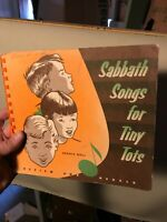Sabbath Songs for Tiny Tots Cradle Roll 1964 Review & Herald