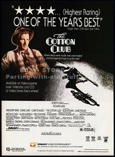 THE COTTON CLUB__Original 1985 Print AD / movie promo__RICHARD GERE__DIANE LANE