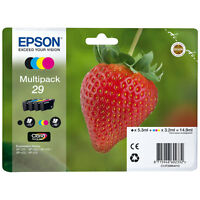 NEW GENUINE EPSON 29 Strawberry T2986 Multipack Ink for XP-235 332 335 432 435