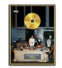 Maes Poster, Les Derniers Salopards GOLD/PLATINIUM CD, gerahmtes Poster HipHop