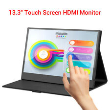 """Eyoyo 13.3"""" Monitor Touch IPS HDMI Second Screen 1920x1080 For Home or Office PC"""
