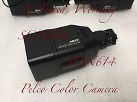 1x Pelco CC3500H-2 CCTV 480TVL 3.5-8mm CCD Surveillance Security Color Camera