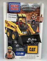 MEGA BLOKS World Builders 97801 CAT Skid Steer Loader 133 Pieces-New & Sealed