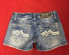 Miss Me Denim Shorts Distressed Women's JD1038H6 Size 25 GUC
