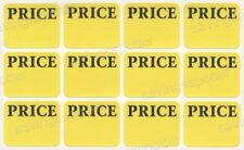 540 Avery Pricing Labels Price Tag Removable Adhesive Rectangular Yellow Sticker