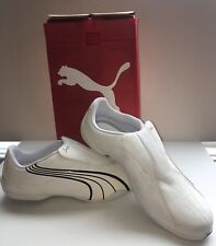 Puma Tergament 185533-01 White Mens Athletic Shoes NWD Size 9.5