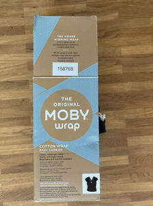 Tragetuch Moby Wrap Classic Black