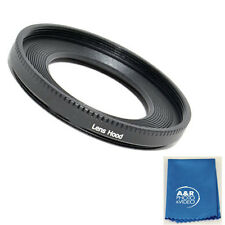 Lens Hood Shade for Canon EF 40mm EF f2.8 STM Pancake 52mm ES-52 40 52 + Kit