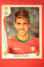 Panini BRASIL 2014 N. 517 MIGUEL VELOSO PORTUGAL WITH BLACK BACK TOPMINT!!