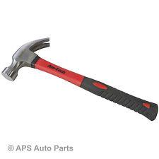 Garra martillo de martillo de fibra de vidrio 8oz Forjado Templado Pulido cabeza empuñadura de goma