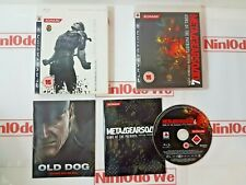 Metal Gear Solid 4: Guns of the Patriots (PS3, 2008) MINT + RARE HMV SLIP COVER