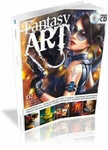 Fantasy Art Vol. 2 by Imagine Publishing Book The Cheap Fast Free Post