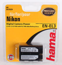 Hama Li-Ion-Akku Coolpix P 600/610/900 S 810 c Nikon EN-EL23