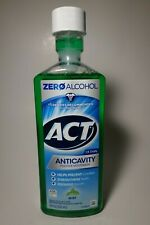 ACT Anticavity Fluoride Mouthwash MINT 18 oz Zero Alcohol Helps Prevent Cavities