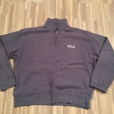 polo ralph lauren 1/4 zip pullover size large