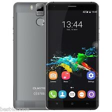 "6000mAh OUKITEL K6000 Pro 4G Smartphone 5.5"" Android 6.0 3G+32G 16.0MP Grey"