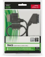 SPEEDLINK TRACS Scart Video & Audio Kabel RGB RCA Cinch XBOX 360 D15-479935