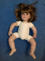 "Adora 18"" Doll Girl Baby ~ By Charisma Brands LLC ~ Brown Hair & Brown Eyes"