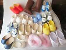 """Large Lot of Doll Shoes. 15"""" Dolls, Lots of Variety. 15 Pairs."""