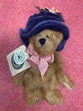 "New ListingBoyds Bears Plush Carly Bearsworth 6"" Blue Hat Retired 919801"