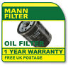 W7008 MANN HUMMEL OIL FILTER (Ford C-Max,Fiesta 2003-) NEW O.E SPEC!