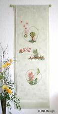UB Design Stickvorlage Herzlich Willkommen Artikel-Nr.: 742