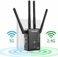 WiFi Extender,WAVLINK 1200M High Power WiFi Range Extender with Router Function,