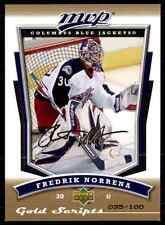 2007-08 MVP Gold Script Fredrik Norrena #23