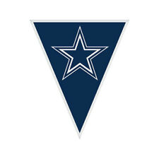 NFL DALLAS COWBOYS PLASTIC FLAG BANNER 1 Birthday Party Supplies Hanging
