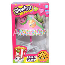 Shopkins Kids Girls Table Lamp Shade Night Light For Ages 8+ New