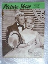 1949 PICTURE SHOW Magazine-D Kaye,V Mayo- THE SECRET LIFE of WALTER MITTY, 2 Apr