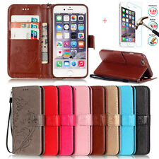 Leather Magnetic Wallet Phone Case Flip Stand Cover For Apple iPhone X 8 7 Plus