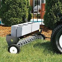 """40"""" Spike Aerator - 132 Tines - 100 lbs Capacity - Hitch Pin - 2"""" Penetration"""